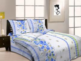 Комплект постельного белья 1,5 бязь Миледи (5015-1 Цикорий)