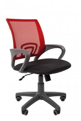 """Кресло офисное """"CHAIRMAN 696"""" ткань TW красный"""