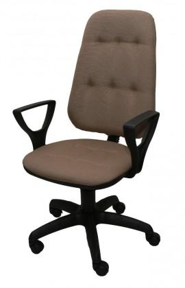 Кресло компьютерное Премьер 3 Н к/з серый