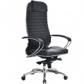 Кресло компьютерное м/к Samurai KL-1.03 чёрный