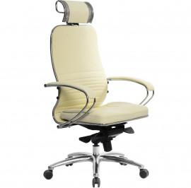 Кресло компьютерное м/к Samurai KL-2.03 бежевый