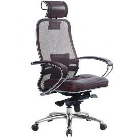 Кресло компьютерное м/к Samurai SL-2.03 тёмно-бордовый