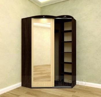 Шкаф-купе угловой 2-х дверный (ЭКОНОМ)
