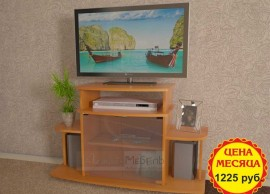 Снижение цен на тумбы под телевизоры и аквариумы!
