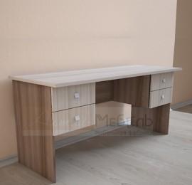 """Офисная мебель """"Визит 5"""" Стол двухтумбовый (4 ящика)"""
