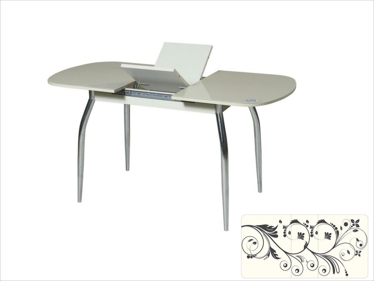 Столы обеденные со стеклянной столешницей