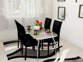 Комплект обеденный (стол и 4 стула)