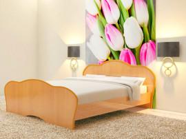 """Спальня """"Тюльпан"""" кровать Т-21 (1600х2000),(без матраса)"""