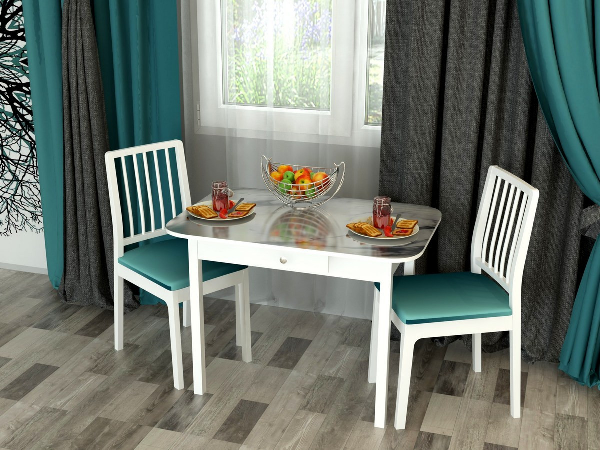 Столы обеденные c пластиковой столешницей