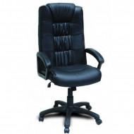 """Кресло компьютерное  """"Фортуна 5"""" (1) кожзам Чёрный, крестовина пластик"""