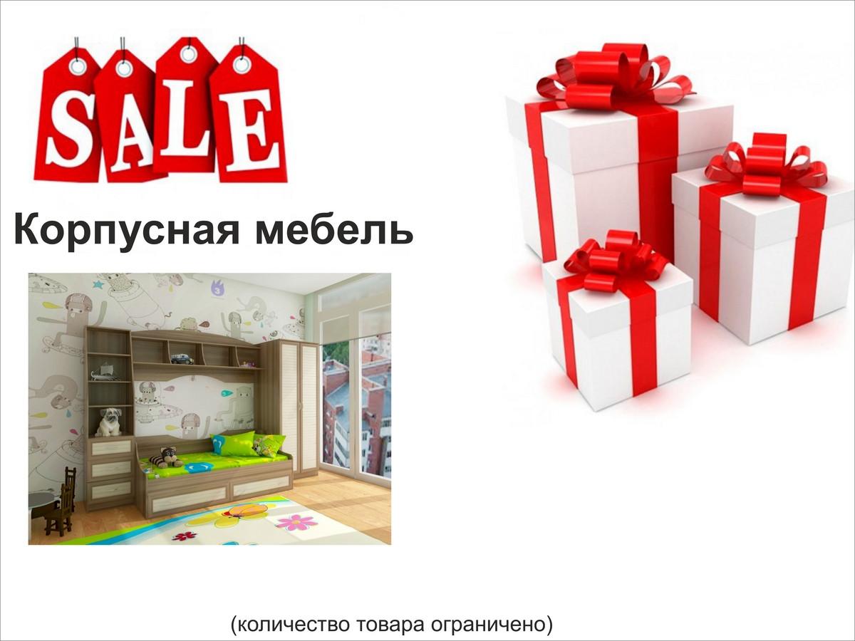 Корпусная мебель (АКЦИИ)